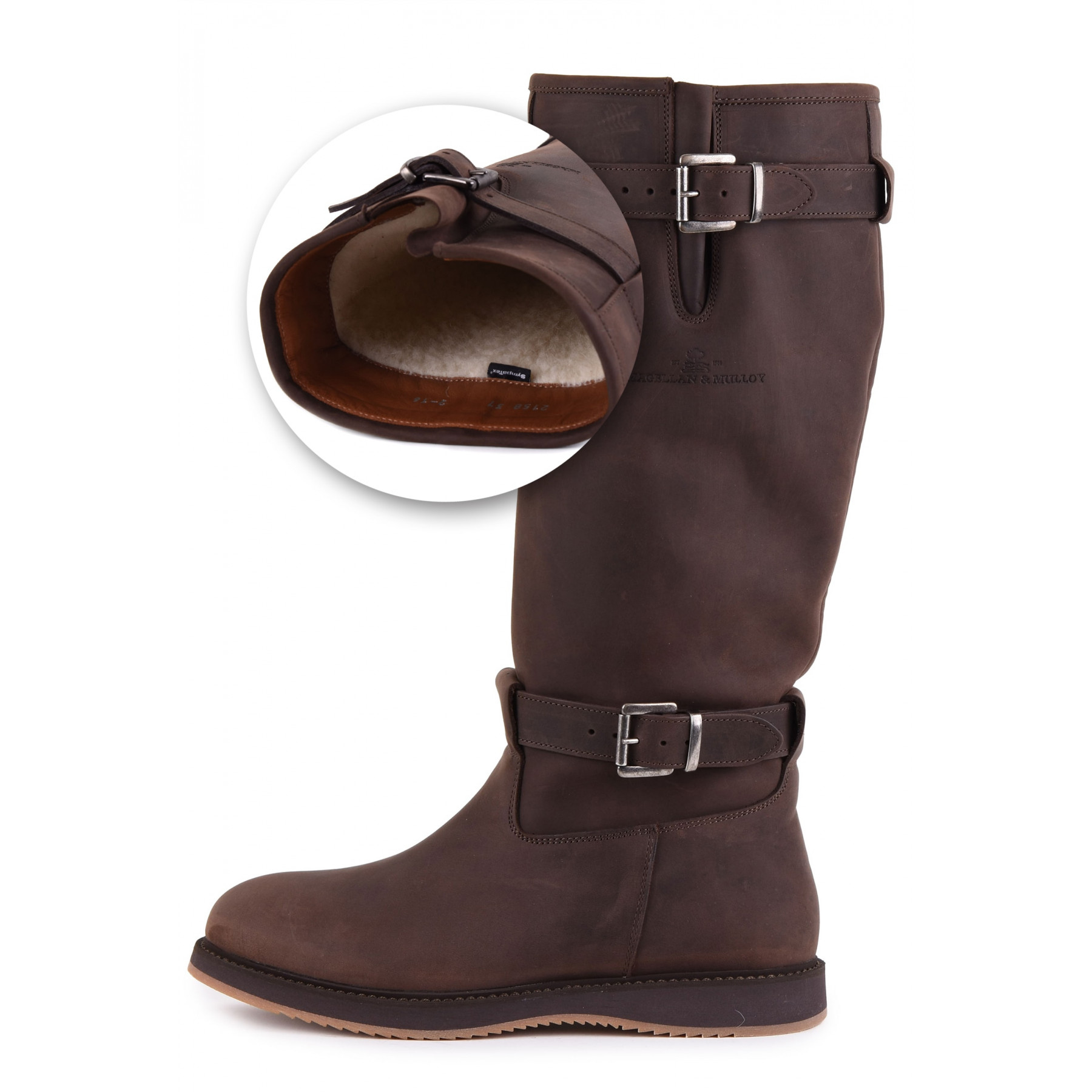 Magellan & Mulloy Xscape Denver Lamb Lining Brown, brown ladies outdoor boot