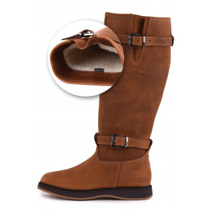 Magellan & Mulloy Xscape Denver Lamb Lining Brandy, brandy ladies outdoor boot
