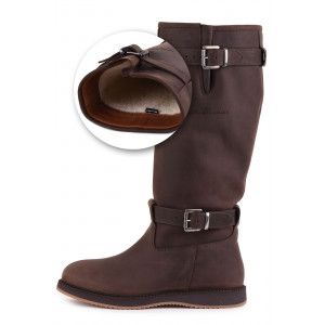 Magellan & Mulloy Xscape Denver Lamb Lining Brown, brown ladies outdoor boot